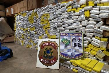 Polícia Federal apreende 1,6 tonelada de maconha na região de Umuarama