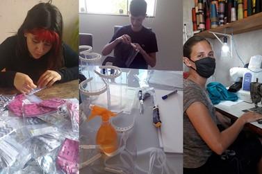 IFPR de Umuarama intensifica fabricação de máscaras de proteção para doação