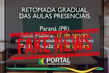 Data de retorno às aulas nas escolas estaduais em Umuarama não está definida