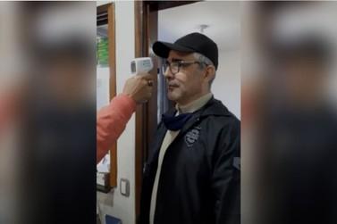Quem procurar a Delegacia da Polícia Civil de Umuarama terá temperatura medida