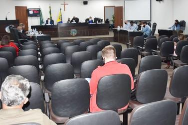 Câmara de Umuarama aprecia quatro projetos em sessão ordinária desta segunda