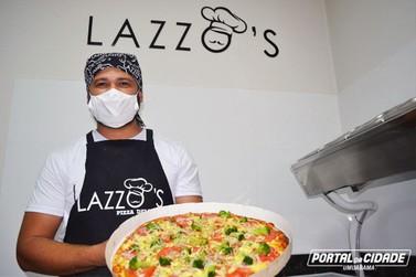 Ingredientes frescos e amor pelo que faz são segredos do sabor, diz pizzaiolo