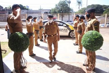 Sargento reformado mais antigo de Umuarama recebe homenagem por seus 90 anos