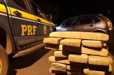Três homens são presos pela PRF por tráfico de drogas em Alto Paraíso