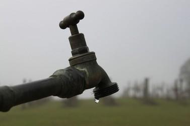 Manutenção pode afetar abastecimento de água em bairros de Cianorte