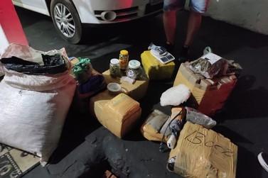 Polícia apreende maconha, drogas sintéticas e prende cinco suspeitos em Umuarama