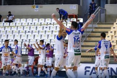 Umuarama encara o Praia Clube nas oitavas de final da Liga Nacional de Futsal