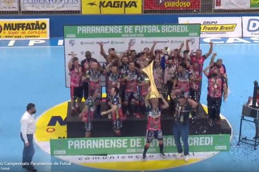 Cascavel vence Umuarama e leva o título do Campeonato Paranaense de Futsal 2020