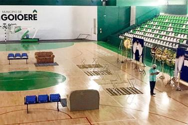 Velório da família Cruzeiro será no Ginásio 10 de Agosto, em Goioerê