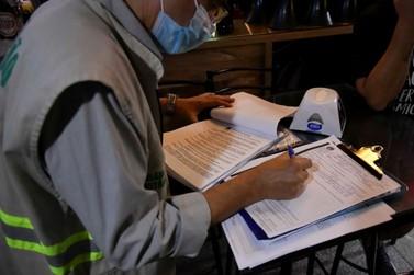 Fiscalização flagra desrespeito às medidas contra pandemia em Umuarama