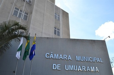 Por conta da pandemia, sessões da Câmara de Umuarama começam às 13h30
