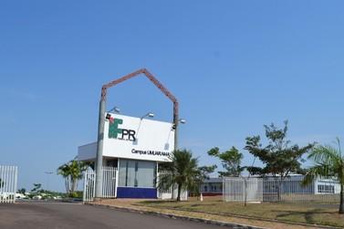 Continuam abertas inscrições de processo seletivo para cursos IFPR Umuarama