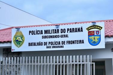 BPFron dispõe de telefone e e-mail para denúncias em Umuarama e região