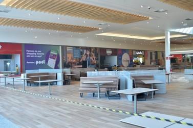 Gigantes do fast food abrirão no Palladium Shopping apenas nas próximas semanas