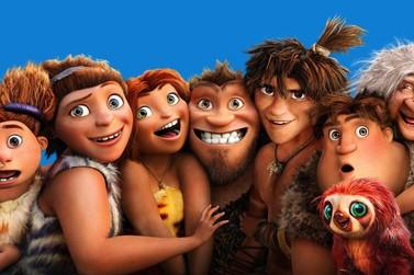 Animação 'Os Croods 2' já está em exibição no Cine Vip Umuarama