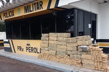 Balanço aponta grandes apreensões de drogas em rodovias da região de Umuarama
