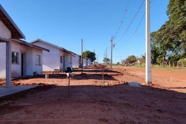 Obras de casas para famílias em vulnerabilidade chega a 70% em Cafezal do Sul