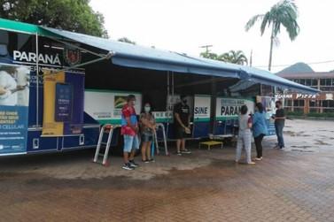 Ônibus da Agência do Trabalhador atende moradores dos distritos de Umuarama
