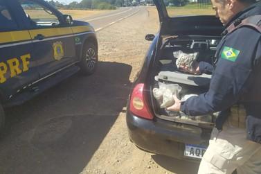 Polícia Rodoviária Federal apreende quase 75 quilos de skunk em Francisco Alves