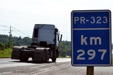 Rodovia PR-323 terá praças de pedágio em Umuarama, Cianorte e Francisco Alves