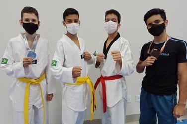 Umuarama se destaca em disputas do taekwondo na 67ª edição dos Jogos Escolares