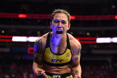 Atleta de Umuarama, Jéssica Bate-Estaca disputa cinturão do UFC neste sábado