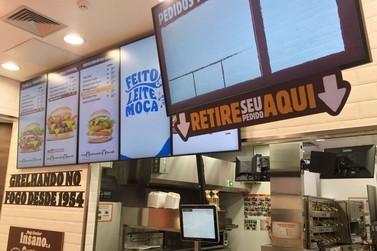 Burger King inaugura sua primeira loja no Shopping Palladium Umuarama