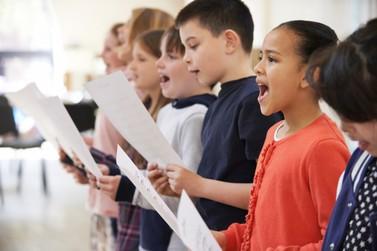 Fundação Cultural oferece aulas de canto para crianças de 8 aos 12 anos