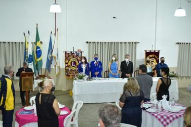Lions Clube de Umuarama recebe a visita do Governador Distrital, Marcos Pesenti