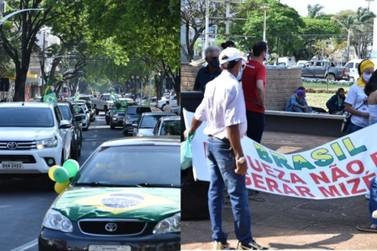 Manifestações reúnem umuaramenses durante feriado de 7 de setembro