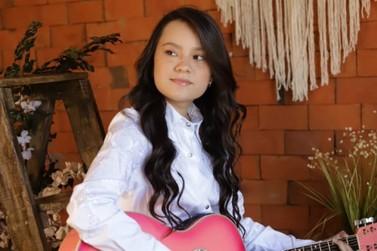 Maria Victória, de Alto Piquiri, se apresenta no The Voice Kids neste domingo