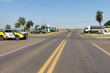 Rodovias da região de Umuarama têm pontos de concentração de manifestantes