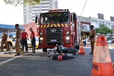 Simulação de acidente busca conscientizar motoristas para um trânsito seguro