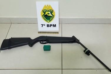 Criança é flagrada com duas munições dentro de escola em Cidade Gaúcha