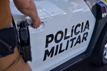 Homem é preso em Cafezal do Sul acusado de agredir mulher com lata de cerveja