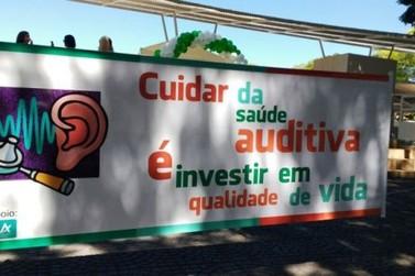 Ação realiza orientações e triagem auditiva gratuitamente em Umuarama