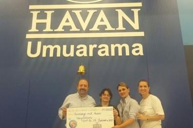 Campanha Troco Solidário repassa R$ 14 mil para o Hospital do Câncer