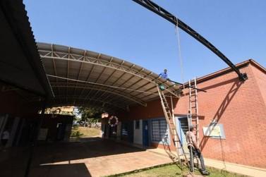 CMEI Cecília Meireles amplia área coberta para os alunos