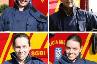 Corpo de Bombeiros de Umuarama forma as primeiras soldados mulheres