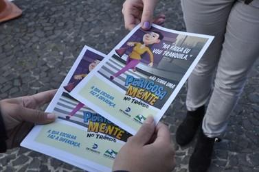 Detran Paraná promove ações de conscientização no Maio Amarelo