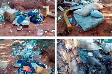 Falta de educação de moradores que destinam lixo nas ruas provoca transtorno para a Prefeitura de Umuarama