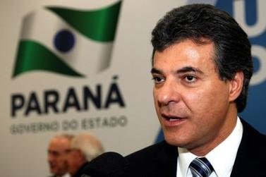 Governador Beto Richa cancela vinda a Umuarama