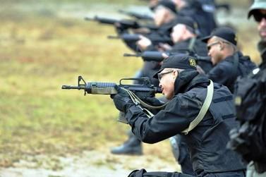 Grupo Tigre abre inscrição para treino de elite na área policial no Paraná