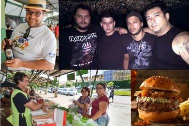 Rock, chope e hambúrgueres artesanais convidam para a Faísca deste sábado