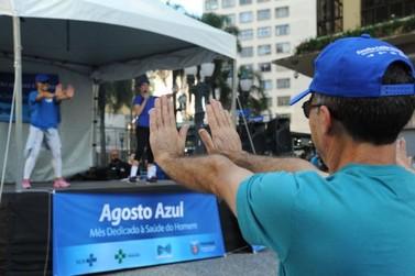 Secretaria da Saúde de Umuarama inicia ações do Agosto Azul