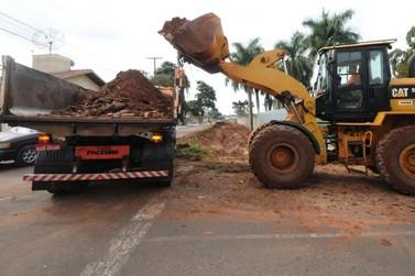 Iniciada pavimentação de ruas em vários bairros de Umuarama