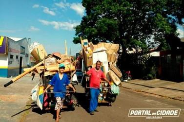 Pai e filho catadores de recicláveis em Umuarama relatam vitórias após divulgação de história