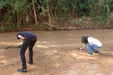 Monitoramento de estudantes constata assoreamento de rios de Umuarama