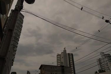 Defesa Civil alerta sobre temporais previstos para esta terça-feira