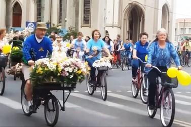 Romaria Ciclística marca dia comemorativo de Nossa Senhora da Salette